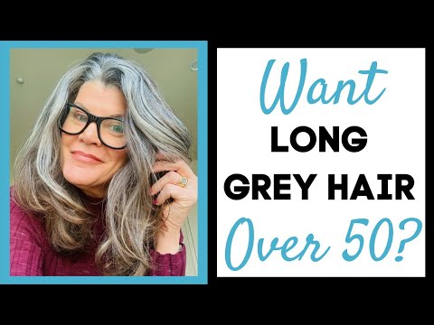 Jonie's Gray Hair Journey