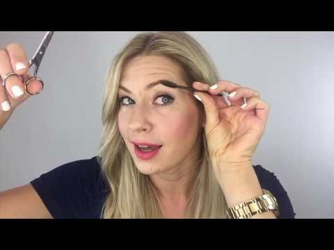 How To Trim Your Own Eyebrows Tutorial
