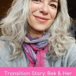 bek natural silver hair transition