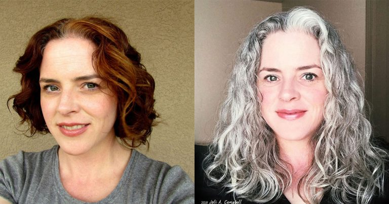 Joli's Silver Hair Journey