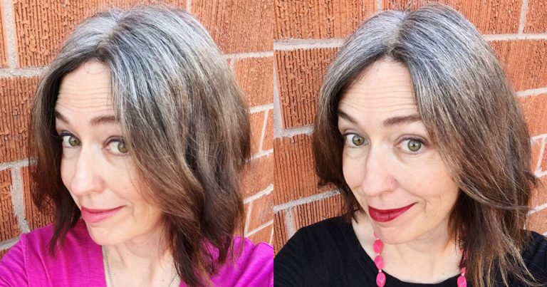 My 7 Month Gray Hair Transition Progress Report