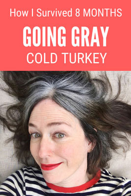 It has been 8 months since I ditched the dye and went gray cold turkey.  The dye has faded considerably and is blending better with my grays, a nice bonus! In this post, I share a video about my transition, as well as product recommendations.  #grayhair #silverhair #grayhairtransition