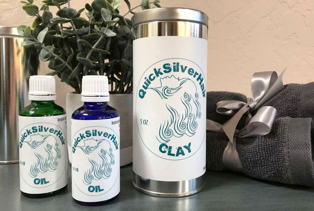 image of quicksilverhair products