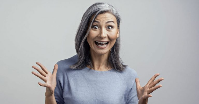 7 Weird Things That Happen When You Go Gray