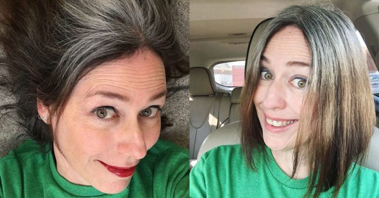 My 9 Month Gray Hair Transition Progress Report