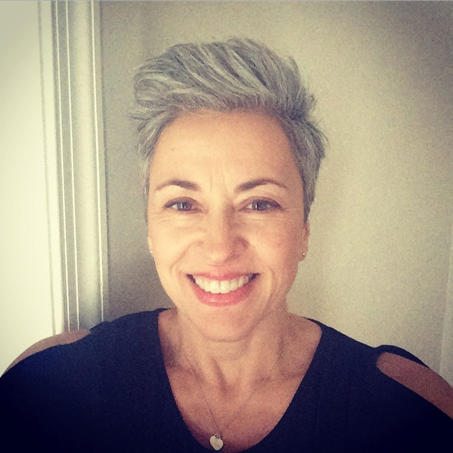 image of woman gray pixie cut how to go gray