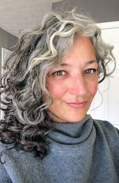 How To Go Gray From Colored Hair Everything You Need To Know