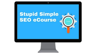 image of stupid simple SEO course blogging resources