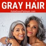 image of beautiful women gray hair