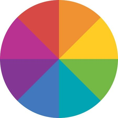 image of color wheel
