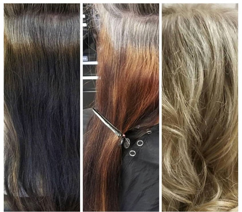 image of color removing process silverfox40tales
