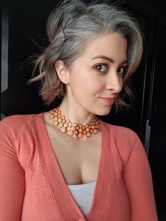 frankie with wavy grey hair