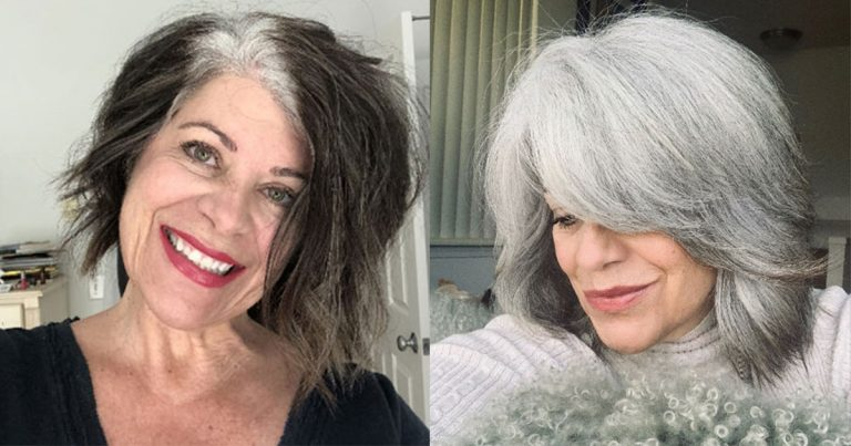 Michele's Beautiful Journey to Gray