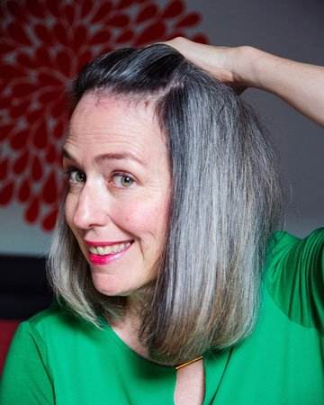 image of 21 months going gray