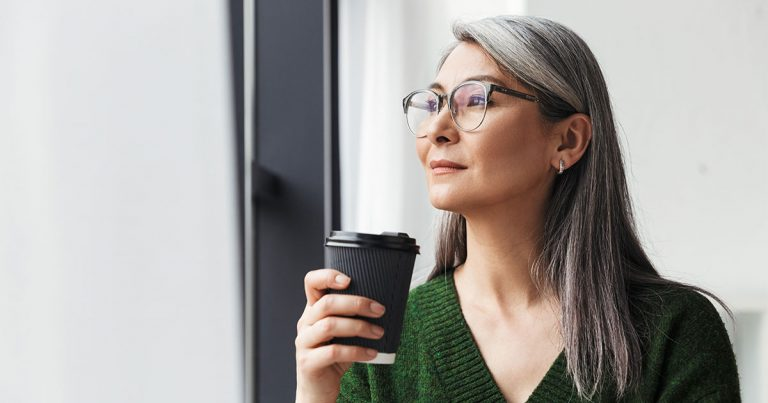 How to Embrace Your Gray Hair Even When You're Not Ready