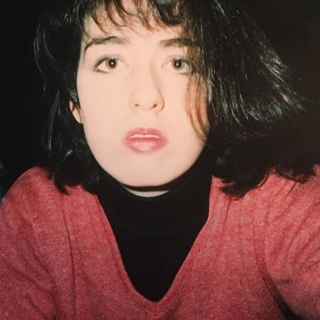 image of katie with dark hair