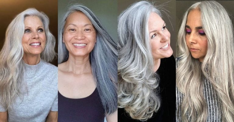 50+ Gorgeous Long Gray Hair Photos to Inspire You