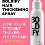 image of Boldify Hair Thickening Spray