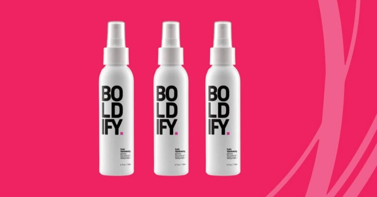 Boldify Hair Thickening Spray Review