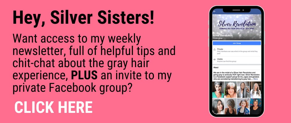 Silver Sisters: Join our supportive Facebook Group, the Silver Revolution